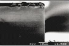 光導波路用多層シリコン酸化膜エッチング