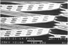 赤外線ポロメータ構造