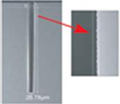 TSV向け滑らかな側壁形状