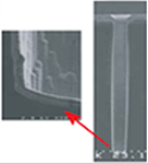 高A/R(10:1)ビアへのイオン化PVDによる埋め込み